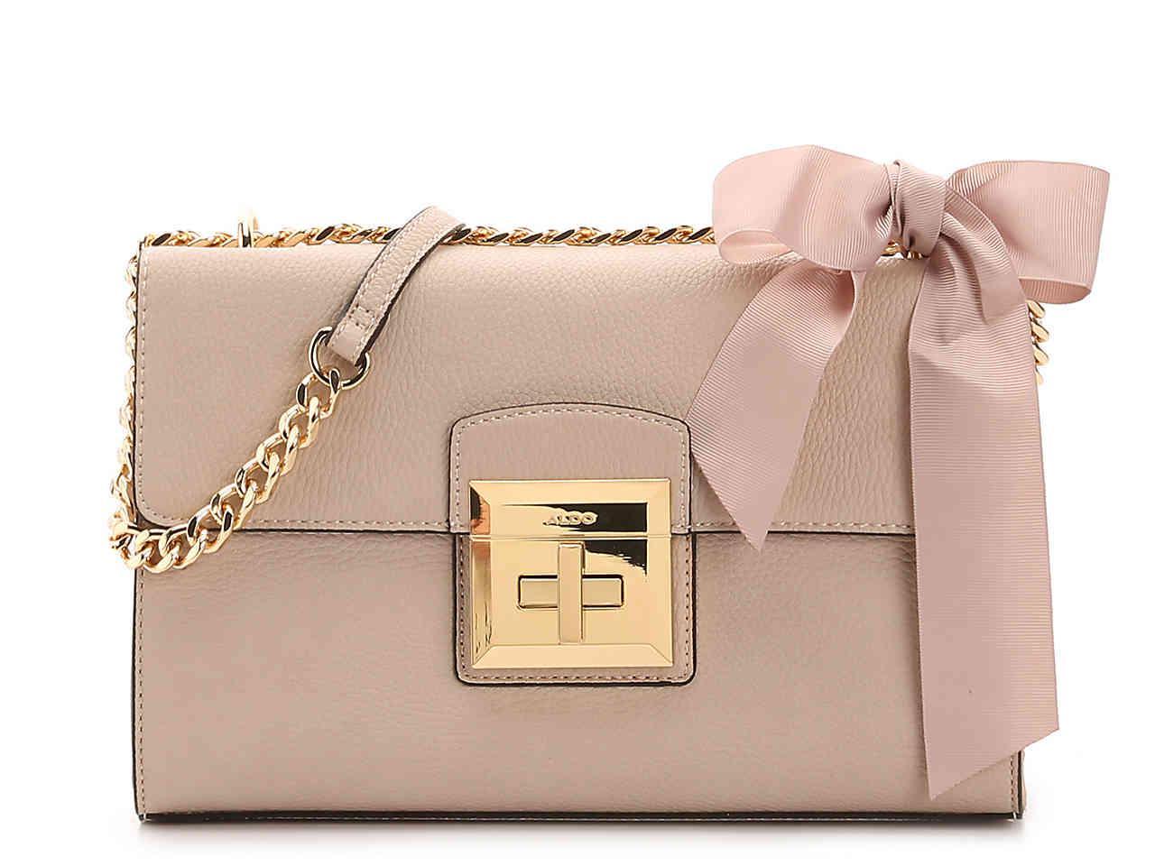 ALDO Maenia Crossbody Bag in Nude (Natural) - Lyst