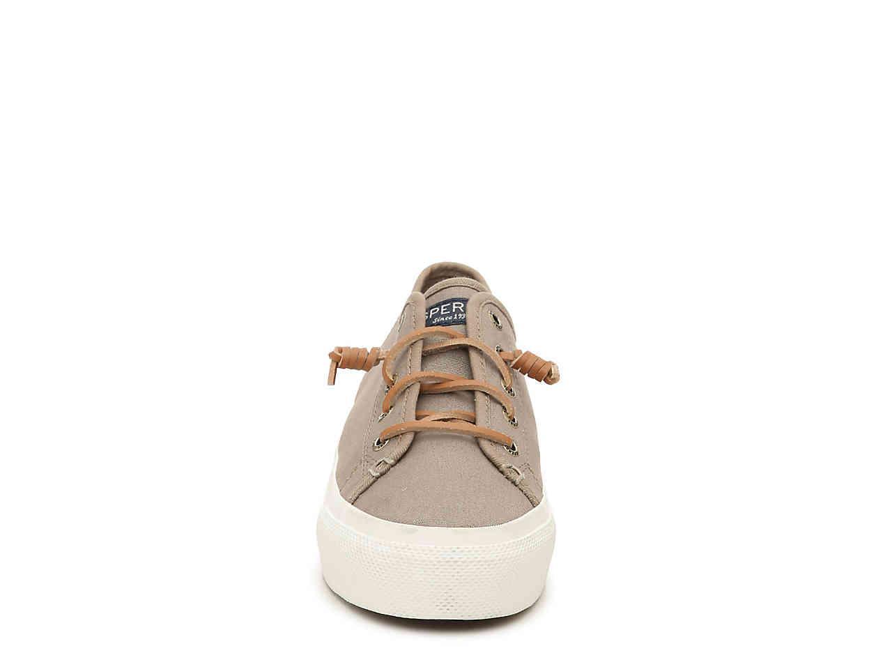 b12ef18c66b Lyst - Sperry Top-Sider Cliffside Platform Slip-on Sneaker in Natural