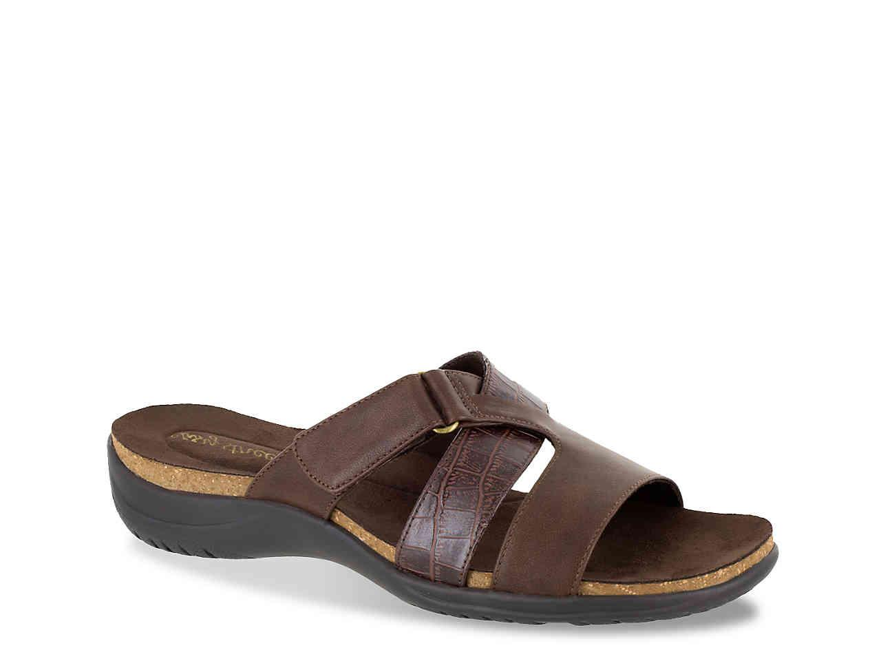 49a4d7d9af7f Lyst - Easy Street Frenzy Sandal in Brown