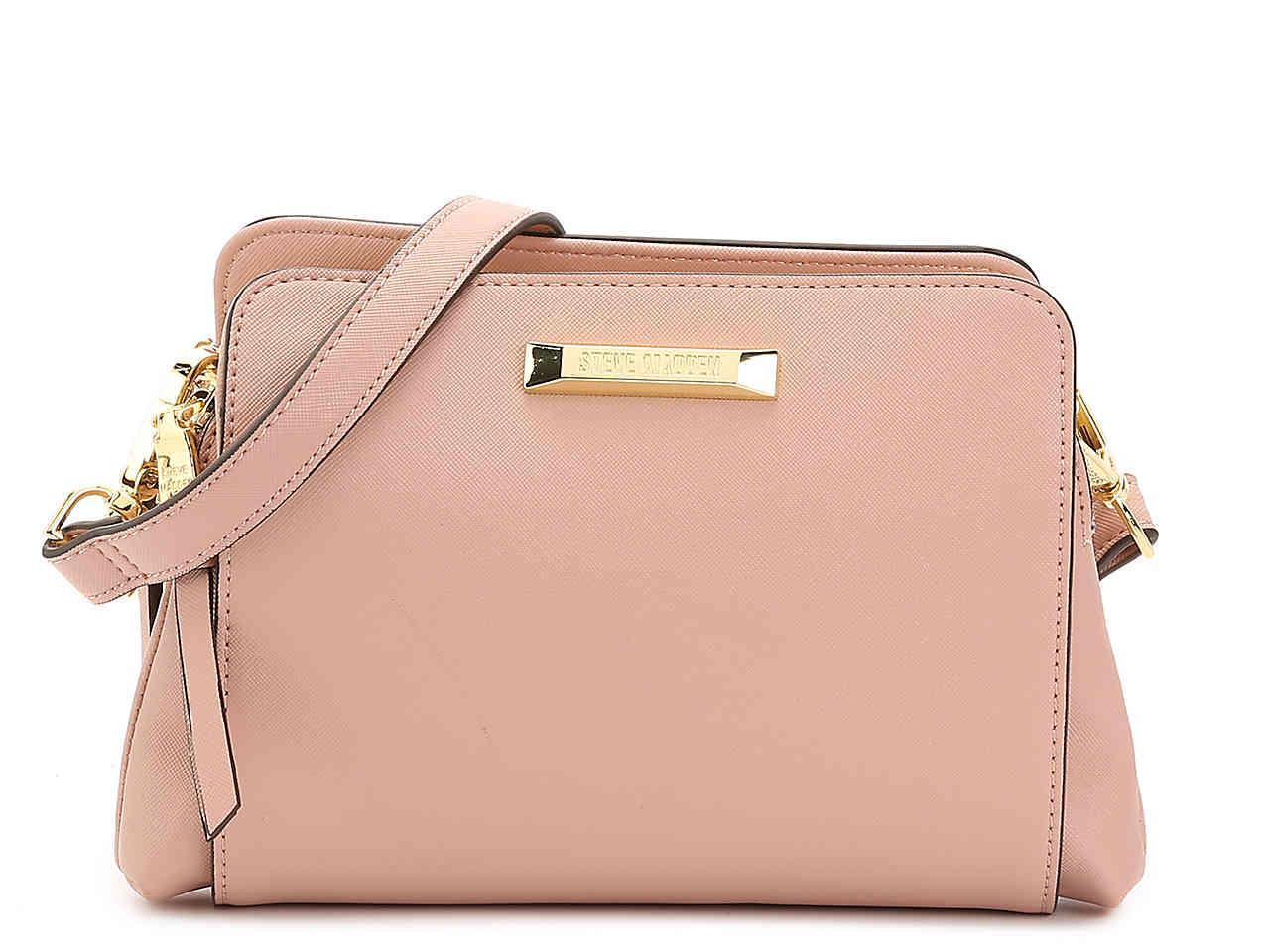 bc3a45f01f8 Steve Madden Blannis Crossbody Bag in Pink - Lyst