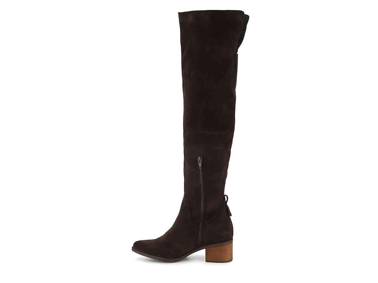 Steve Madden Suede Purly Over The Knee