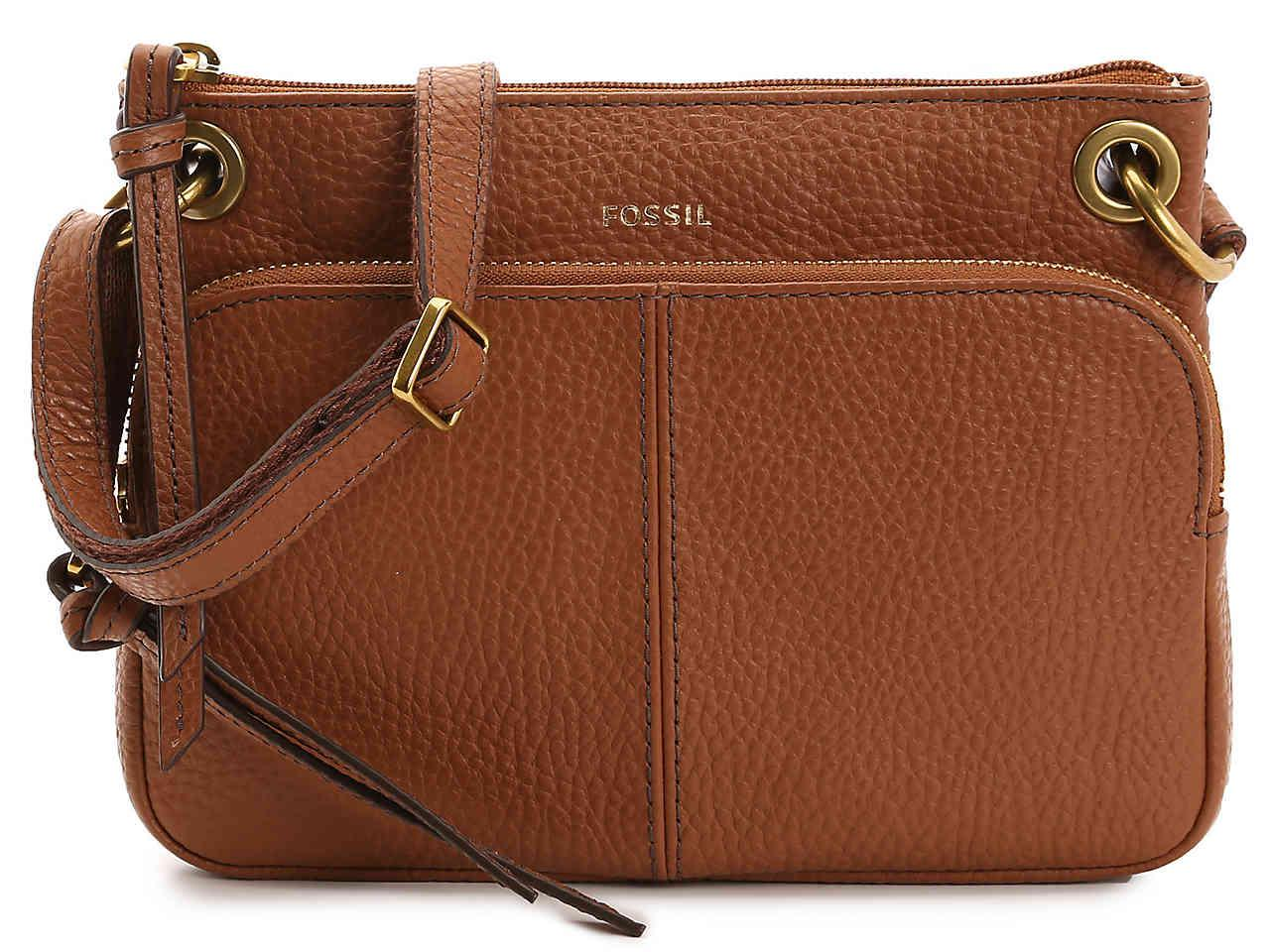 Fossil Karli Leather Crossbody Bag In