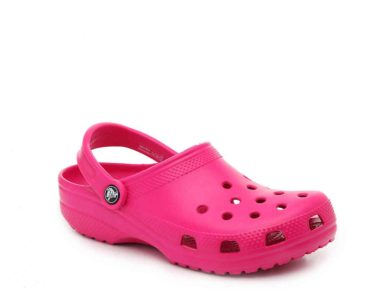 Crocs™ Synthetic Classic Clog in Hot