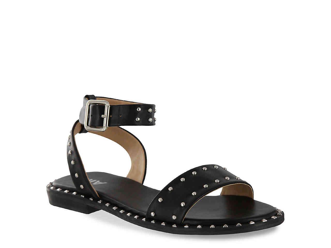 5ea1c20bd06 Lyst - MIA Fannie Sandal in Black