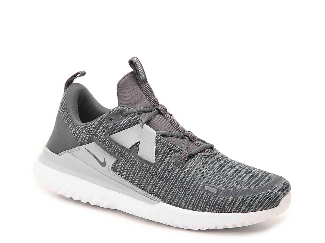new concept 82f01 1aa13 Nike. Mens Gray Renew Arena Lightweight Running Shoe