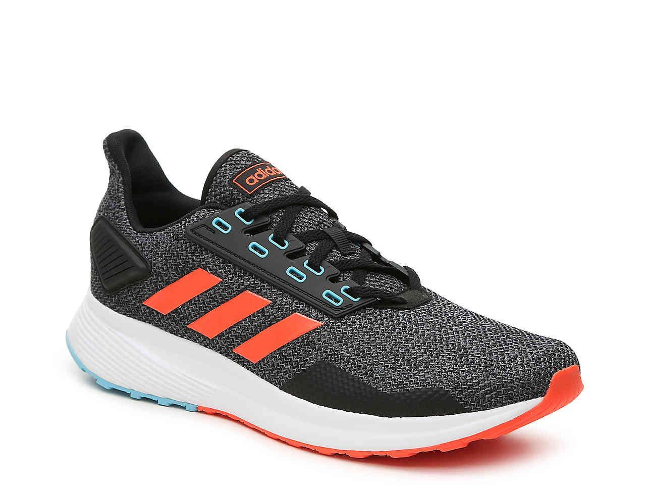 buy online a895b 9389c adidas. Mens Black Duramo 9 Lightweight Running Shoe