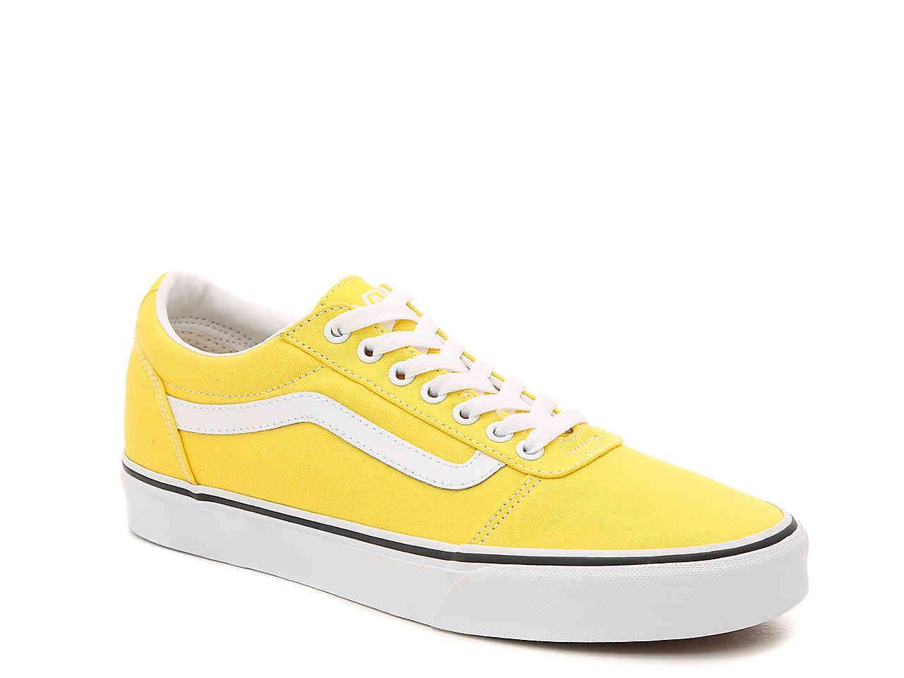 Vans Canvas Ward Lo Sneaker in Yellow