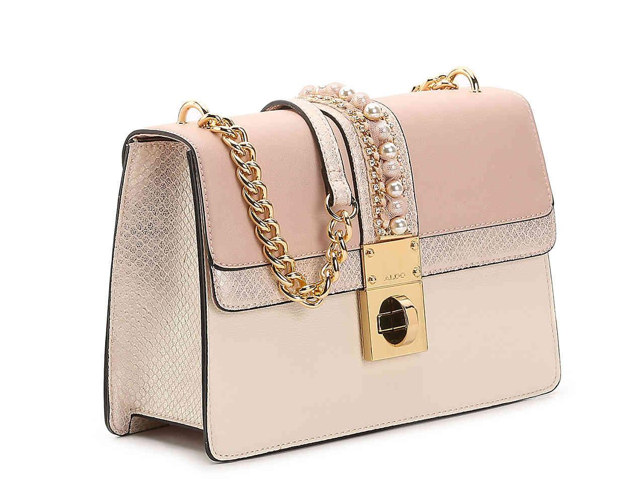 bab22ec8223 ALDO Castagnaro Crossbody Bag in Pink - Lyst