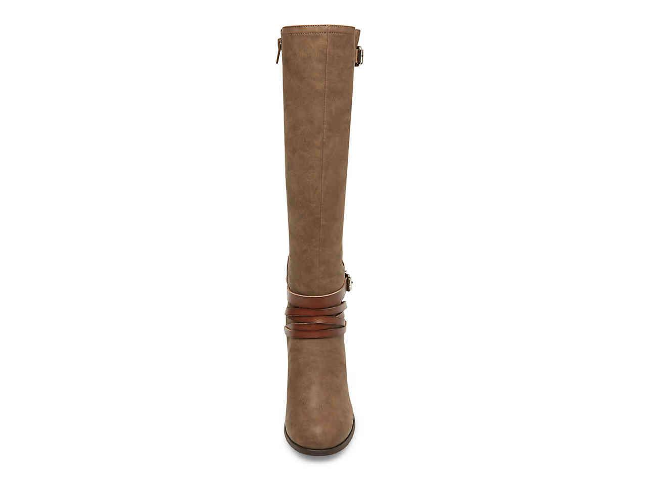 Madden Girl Dash Boot in Taupe (Brown