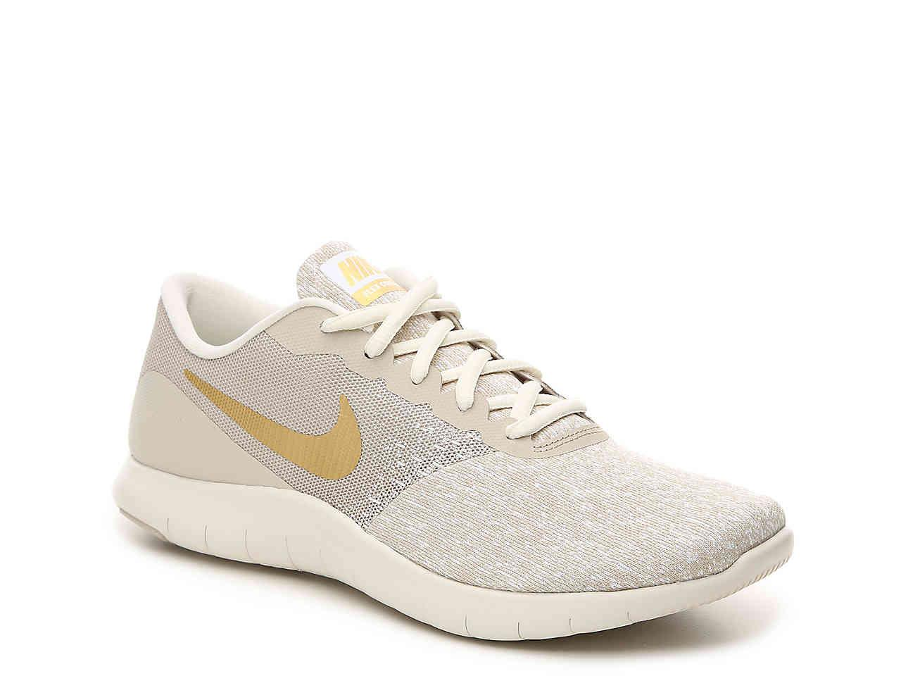 c5c581849065 Lyst - Nike Flex Contact Lightweight Running Shoe in White