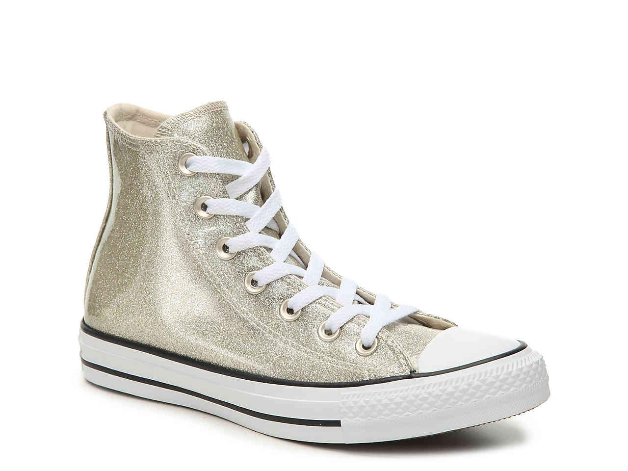 purchase cheap 100% high quality enjoy best price Chuck Taylor All Star Glitter Canvas High Top Sneaker