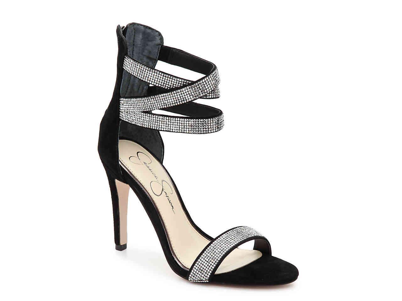 8179b26f06 Lyst - Jessica Simpson Elepina Sandal in Black