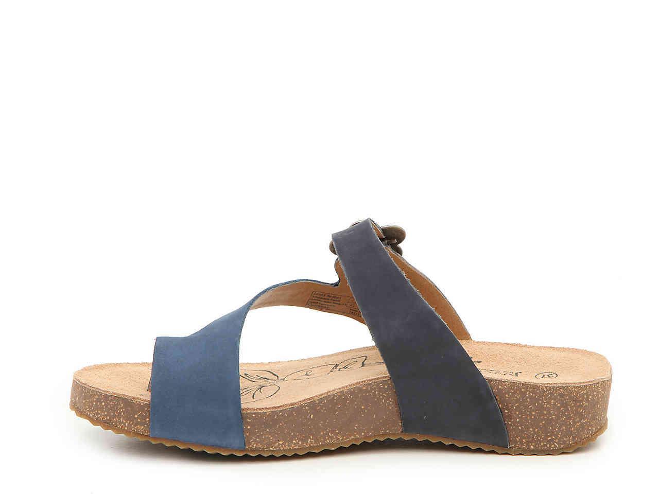 220d9ef0f8fe6 Josef Seibel Tonga 23 Wedge Sandal in Blue - Lyst