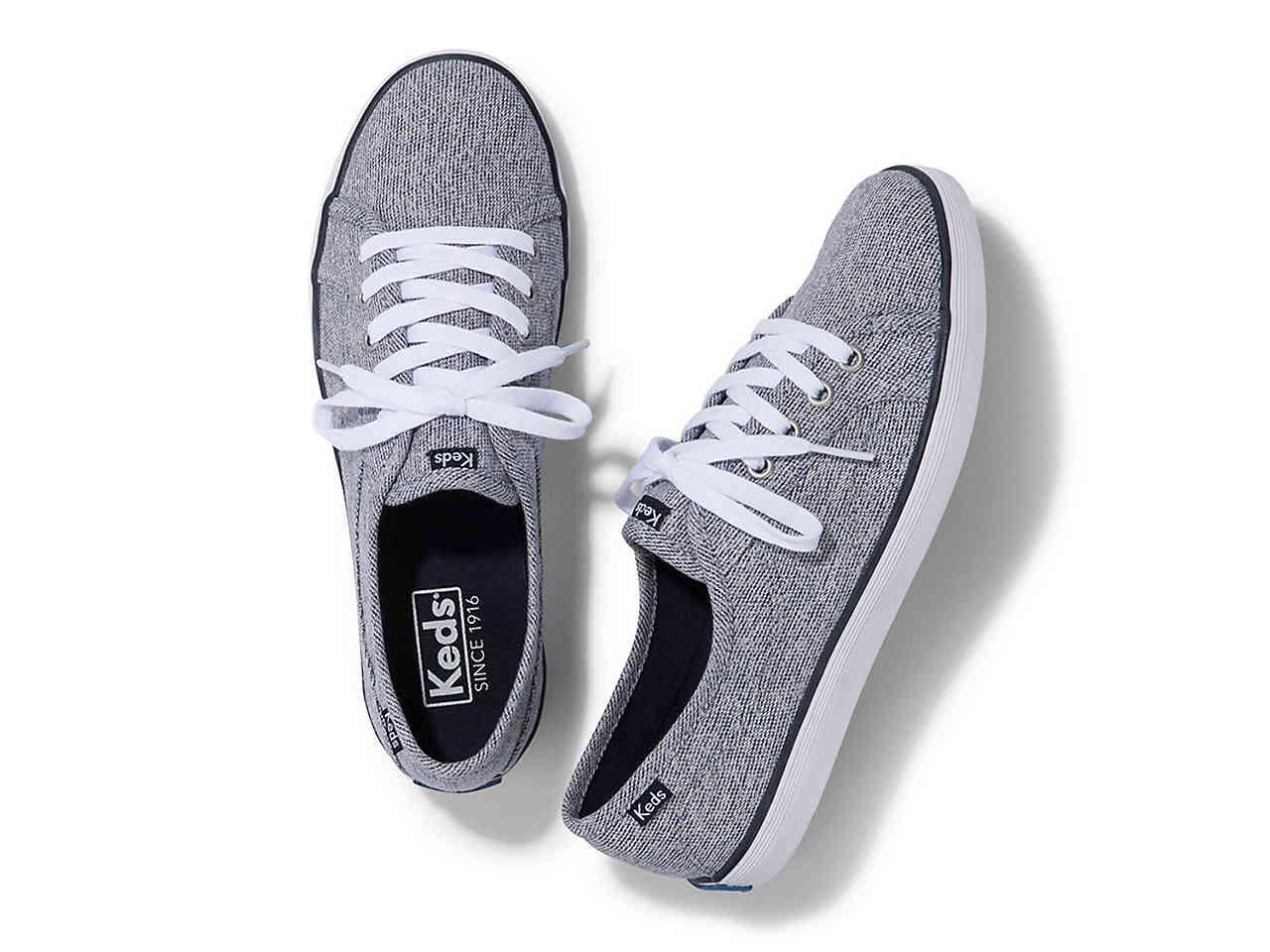 save off ef38e aede9 Keds Coursa Heathered Sneaker in Blue - Lyst
