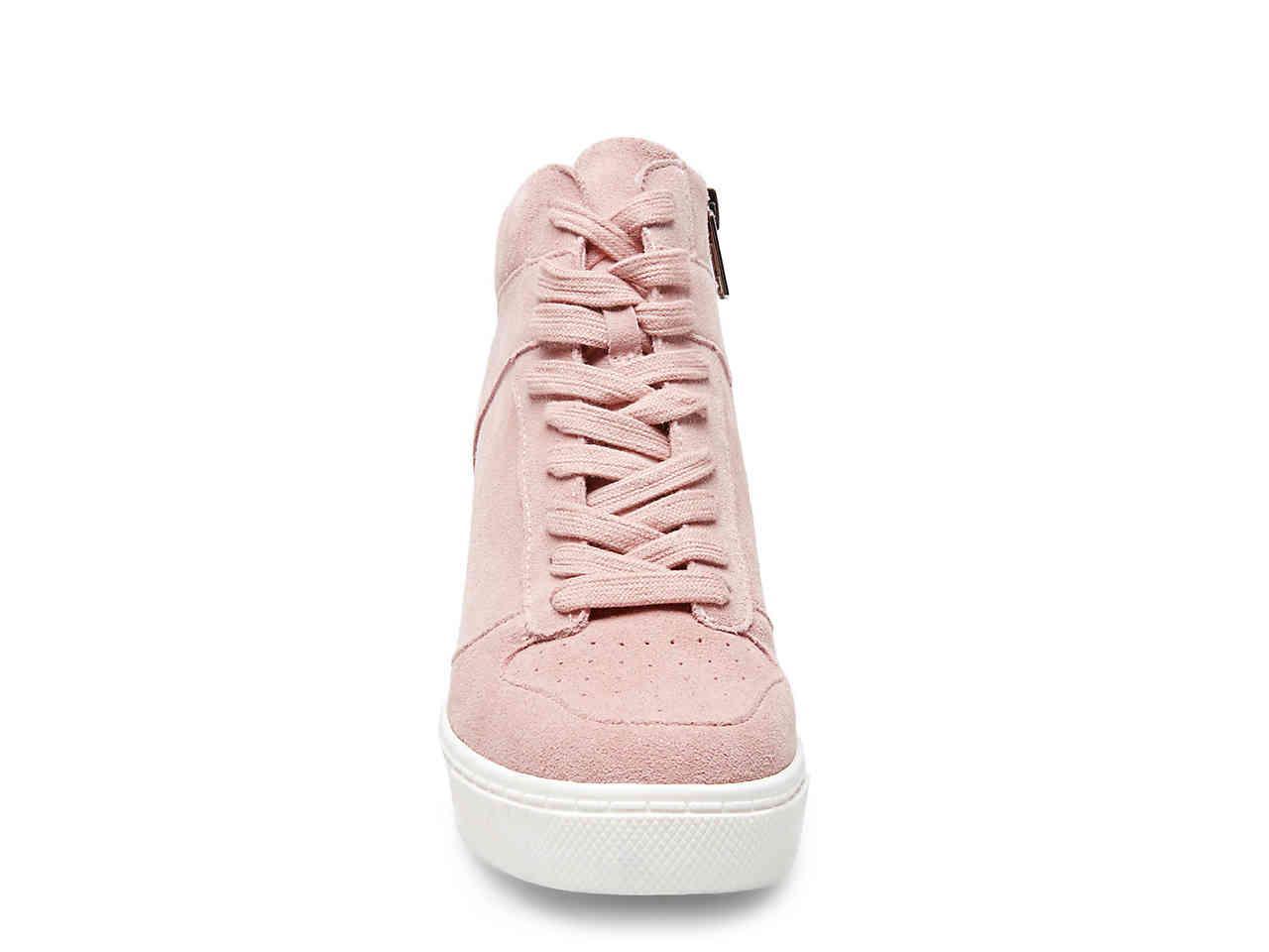 d88d84129ec5 Lyst - Steve Madden Noah Wedge Sneaker in Pink