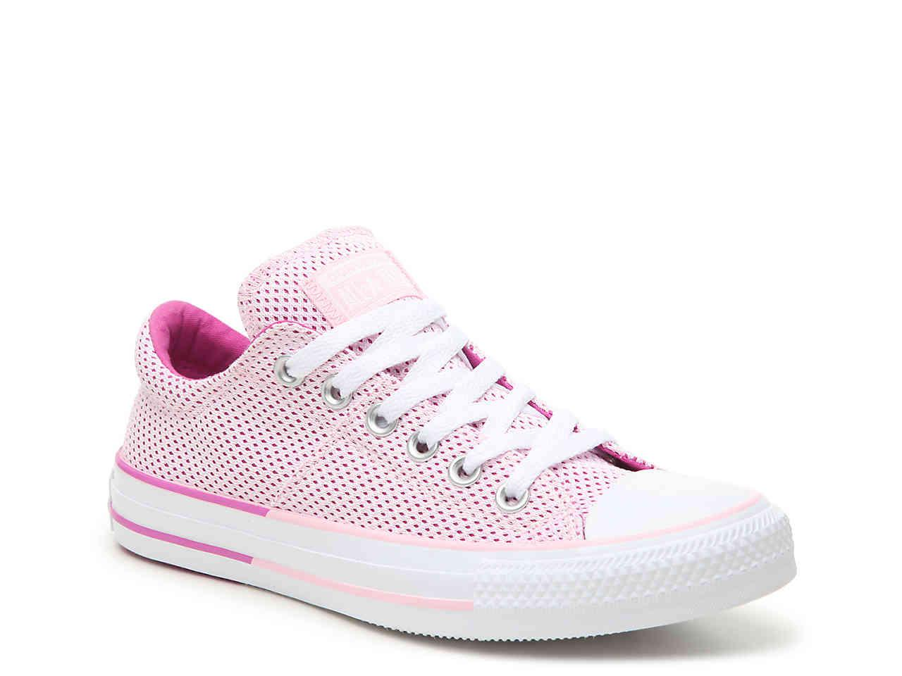 2c01a71a66db Lyst - Converse Chuck Taylor All Star Madison Sneaker in Pink