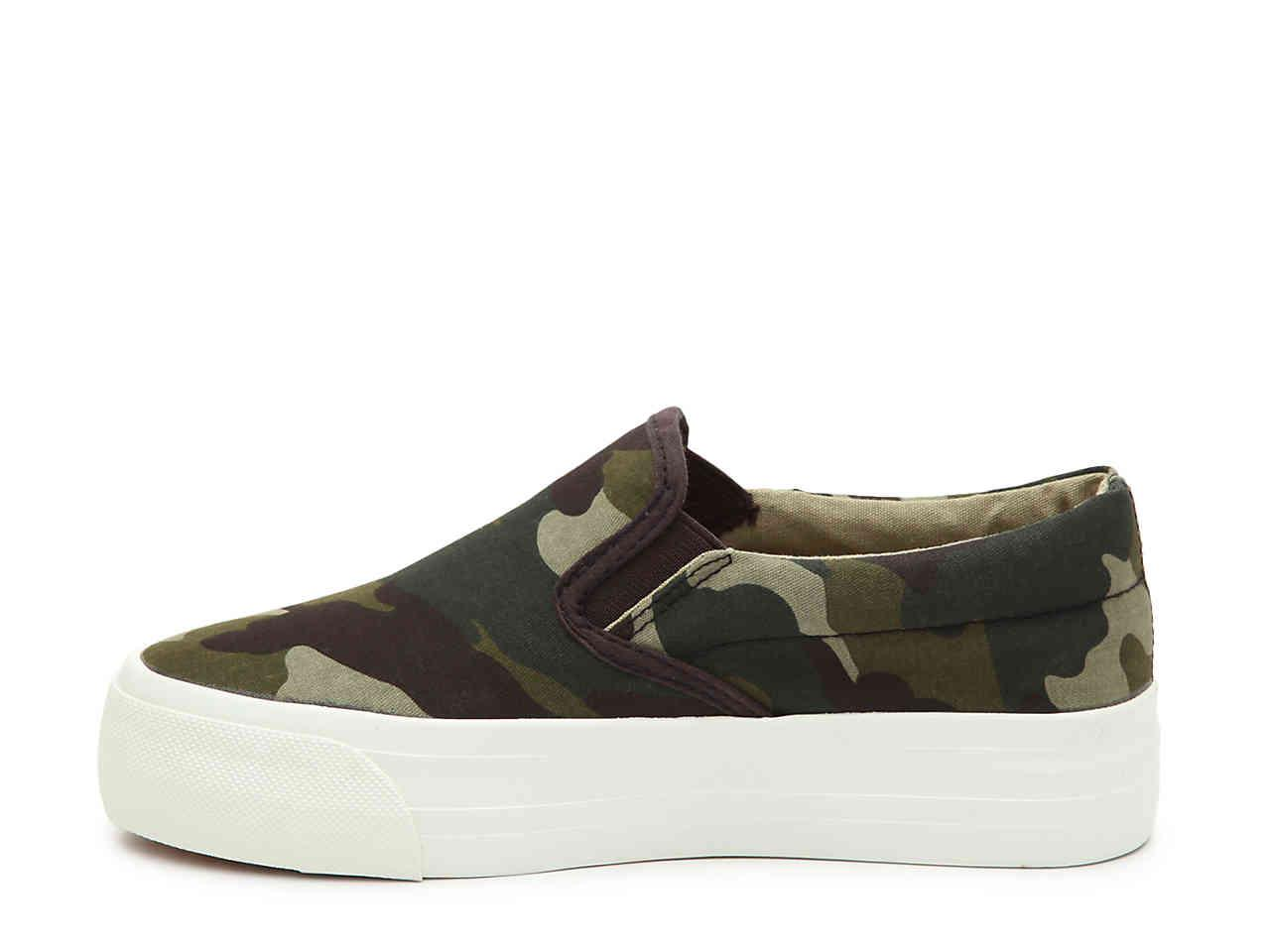 Cam Platform Slip-on Sneaker