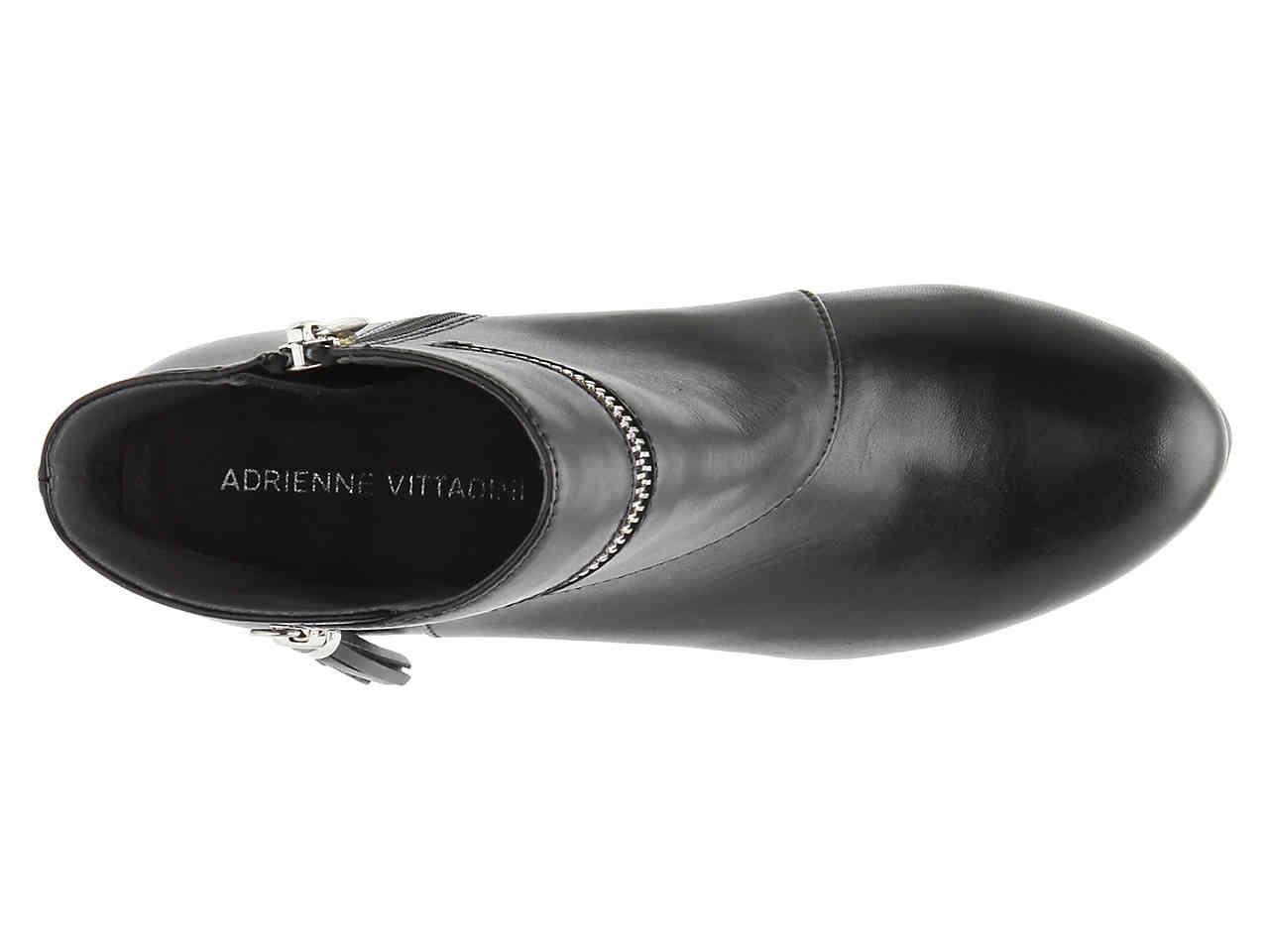 40f8217ce56 Lyst - Adrienne Vittadini Plake Platform Bootie in Black