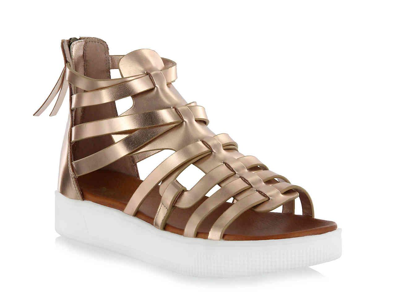 842c76157a Women's Shoes MIA Elsie Natural Gladiator Strappy Platform Sandal Clothing,  Shoes & Accessories
