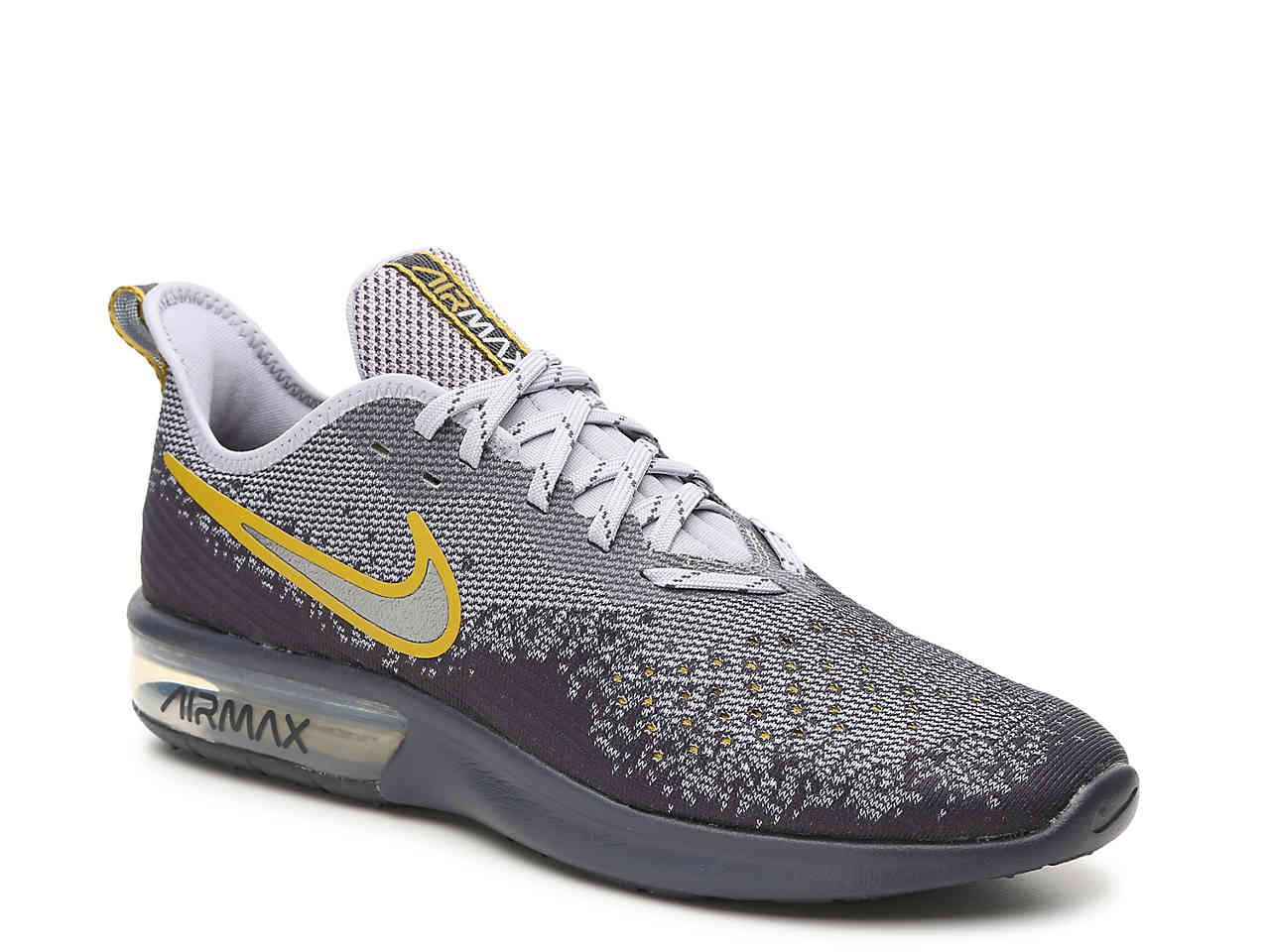 fc6fea07d48f8 Lyst Nike Air Max Sequent 4 Lightweight Running Shoe In Gray For Men