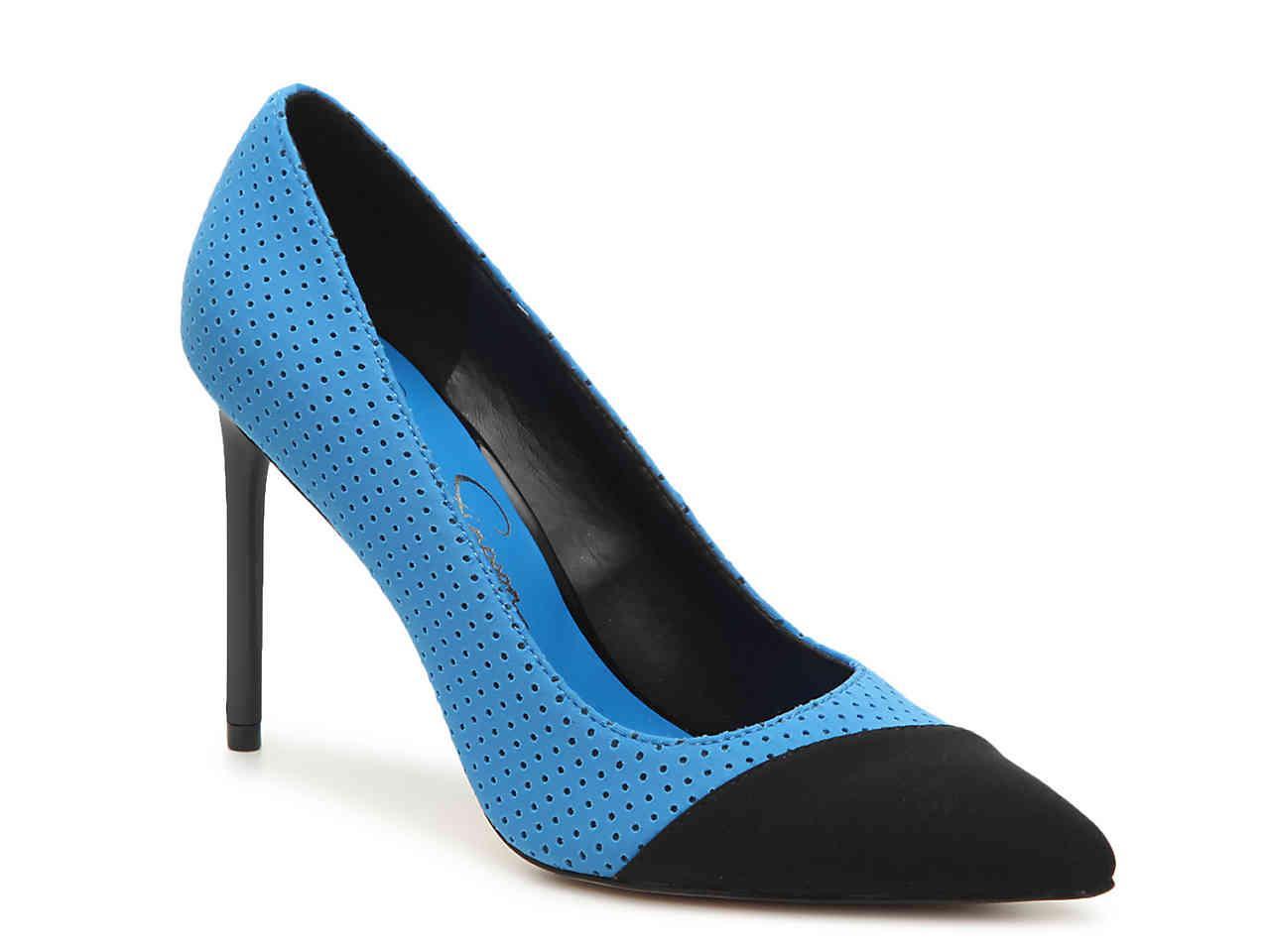 c61c9df5e7 Lyst - Jessica Simpson Kasendra Pump in Blue