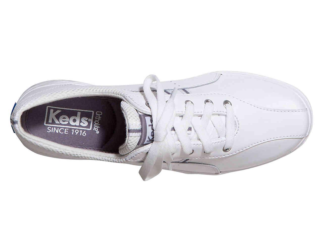 Keds Leather Spirit Ii Sneaker in White