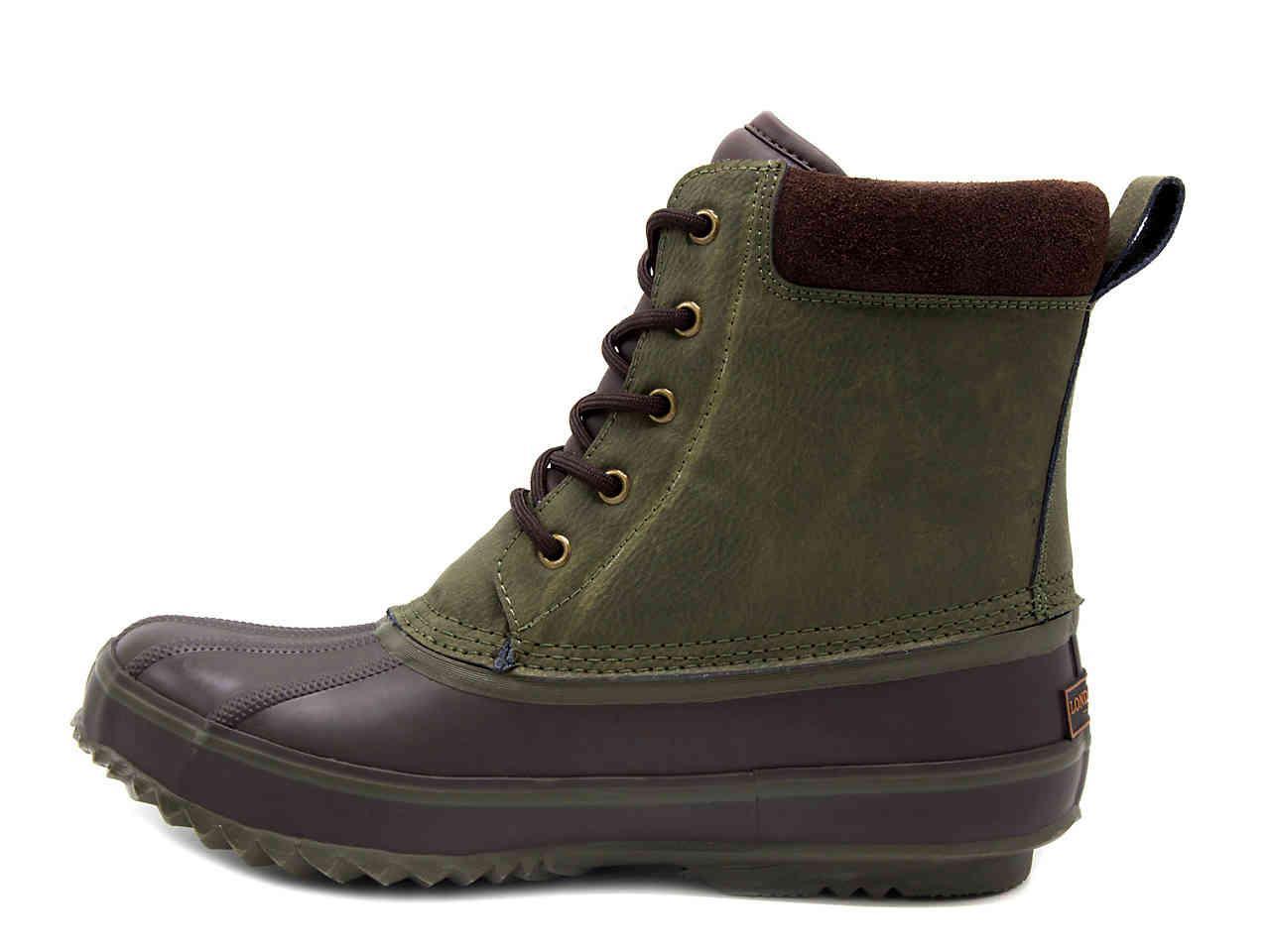 eb65c95d2d0 London Fog Green Ashford 2 Duck Boot for men