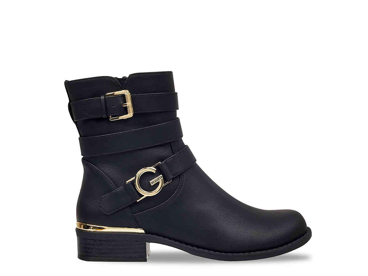 Image result for g by guess harlin motorcycle bootie