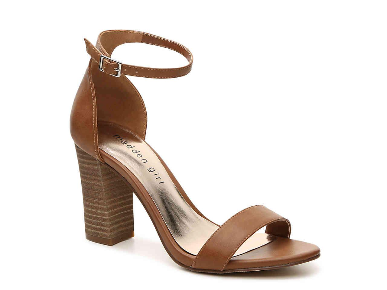 7426164002be10 Lyst - Madden Girl Bella Sandal in Brown