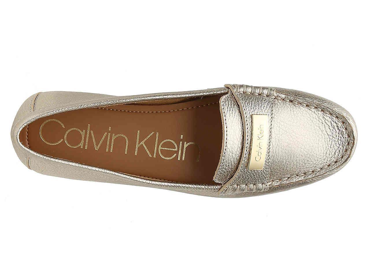 ba32d7abe22 Calvin Klein - Metallic Lavida Loafer - Lyst. View fullscreen