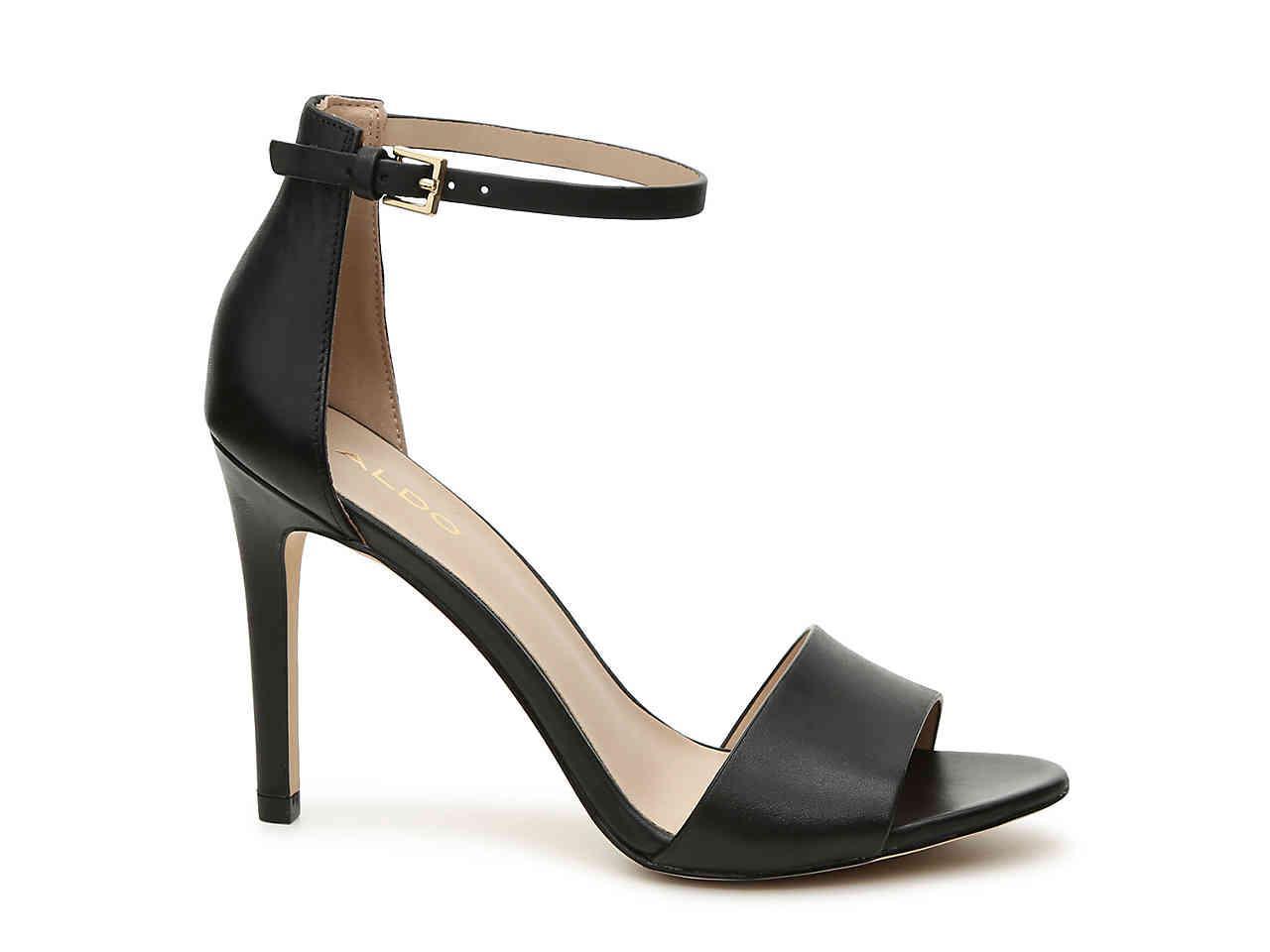 ALDO Melawet Sandal in Black Leather