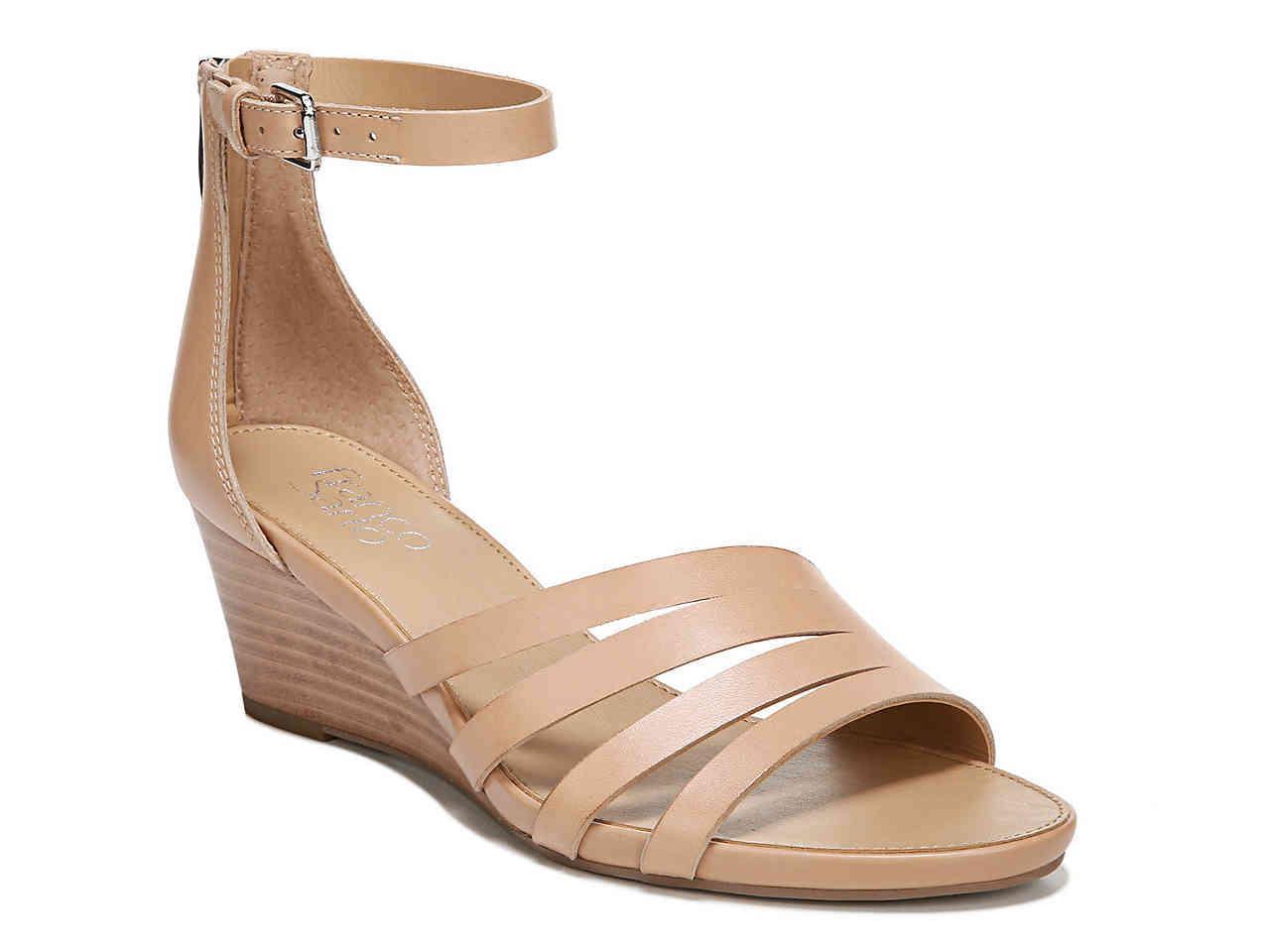60b66e61db4 Lyst - Franco Sarto Dutch Wedge Sandal in Natural