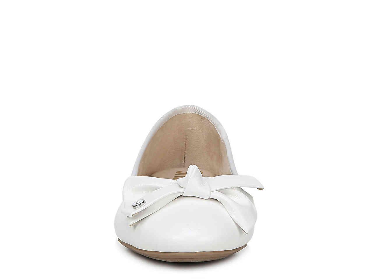 292971fe34c0 Circus by Sam Edelman - White Connie Ballet Flat - Lyst. View fullscreen