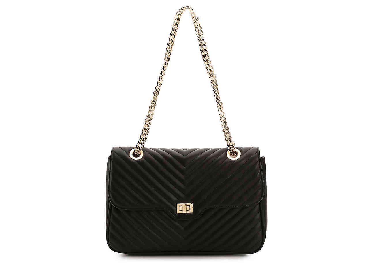 Steve Madden Women S Black Bbarbie Convertible Shoulder Bag