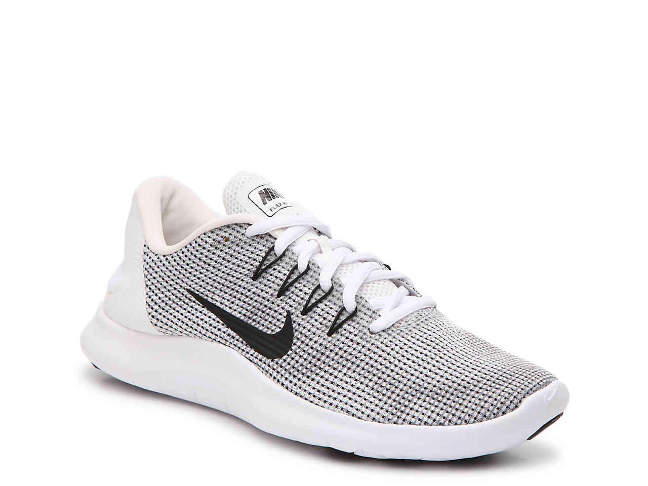 fcc239d86a68 Lyst - Nike Flex 18 Rn Lightweight Running Shoe in White