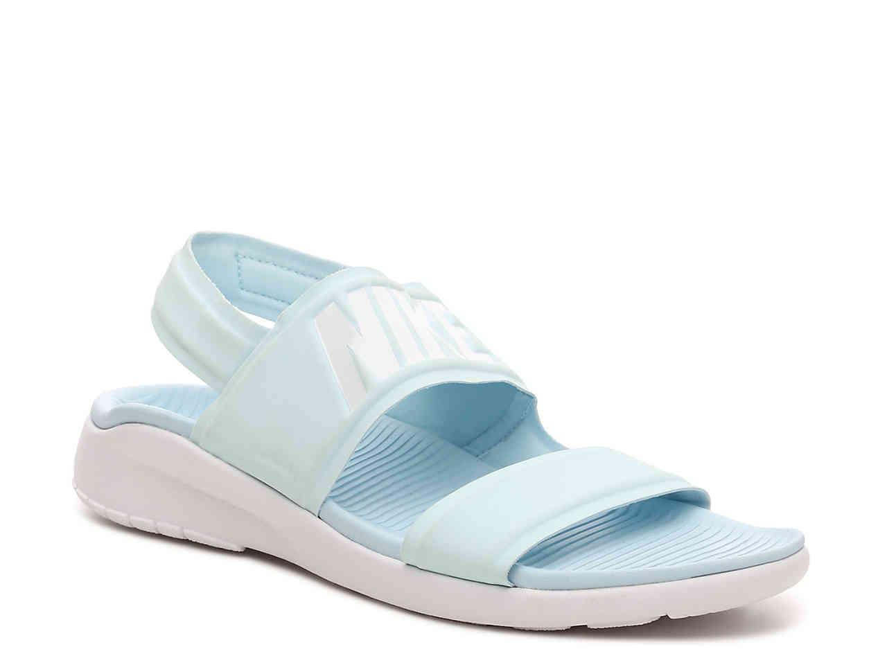 c14a17d99086 Lyst - Nike Tanjun Sport Sandal in Blue