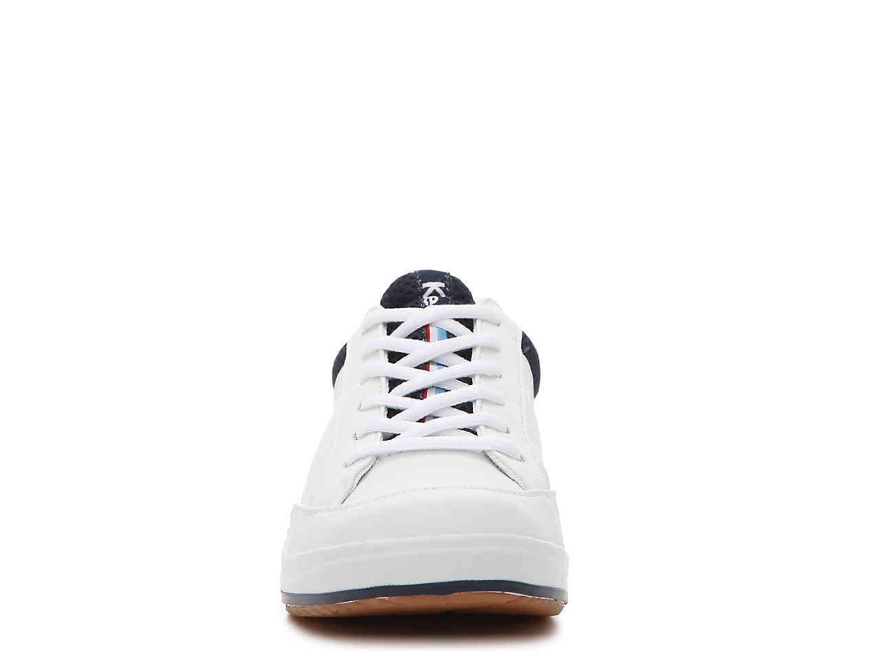 Keds Leather Rebellion Sneaker in White