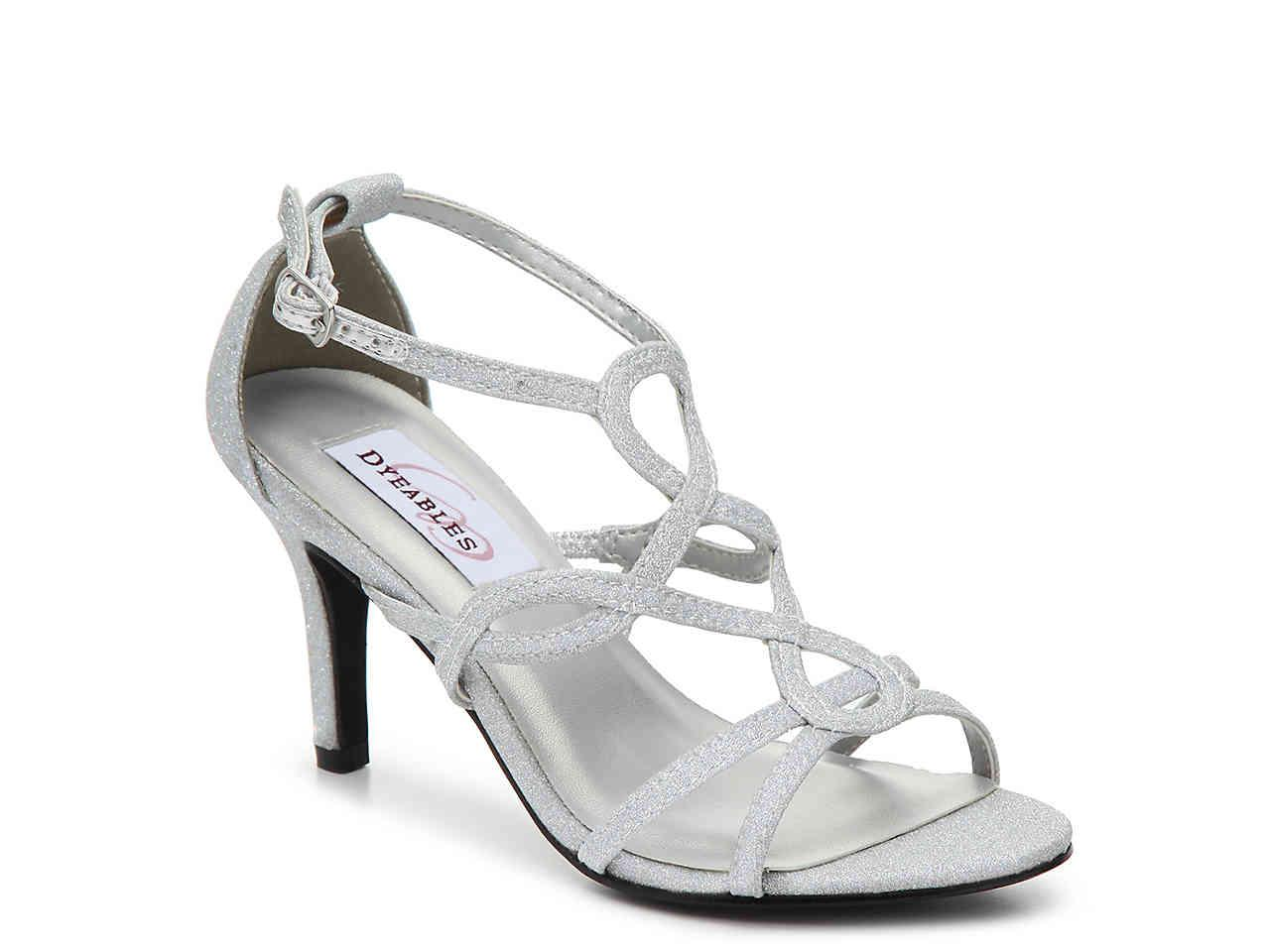 c50047f8e0 Lyst - Dyeables Madison Sandal in Metallic