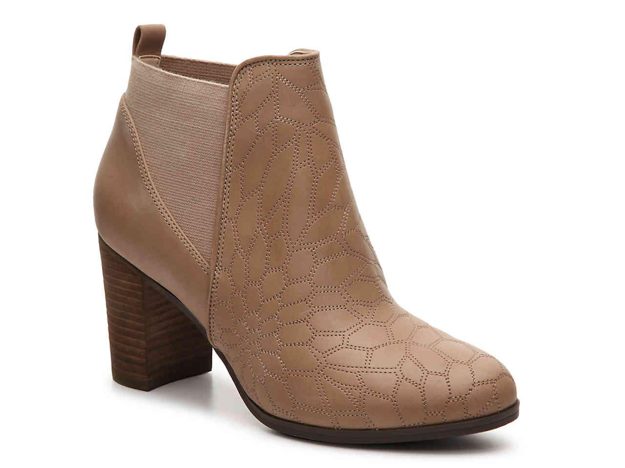 Dr. Scholls Leather Dixie Bootie in