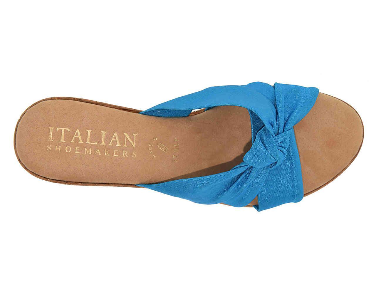 Italian Shoemakers Canvas Panache Wedge