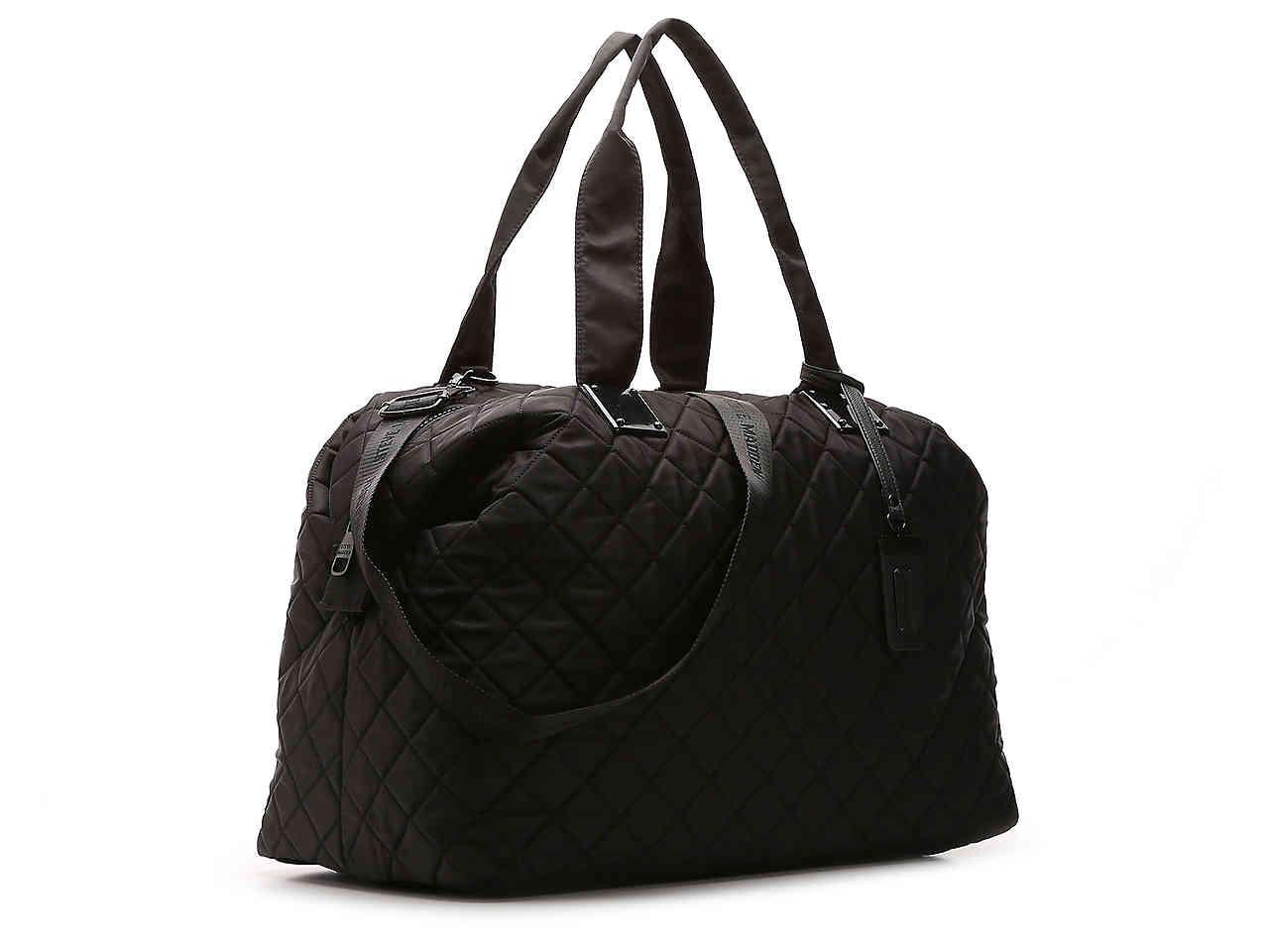 a3978fae429 Women's Black Quilted Weekender Bag
