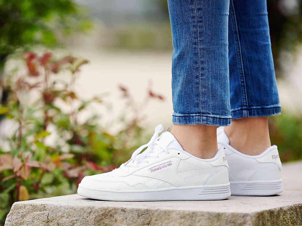 10db11ddb9d0 Lyst - Reebok Club Memt Sneaker in White