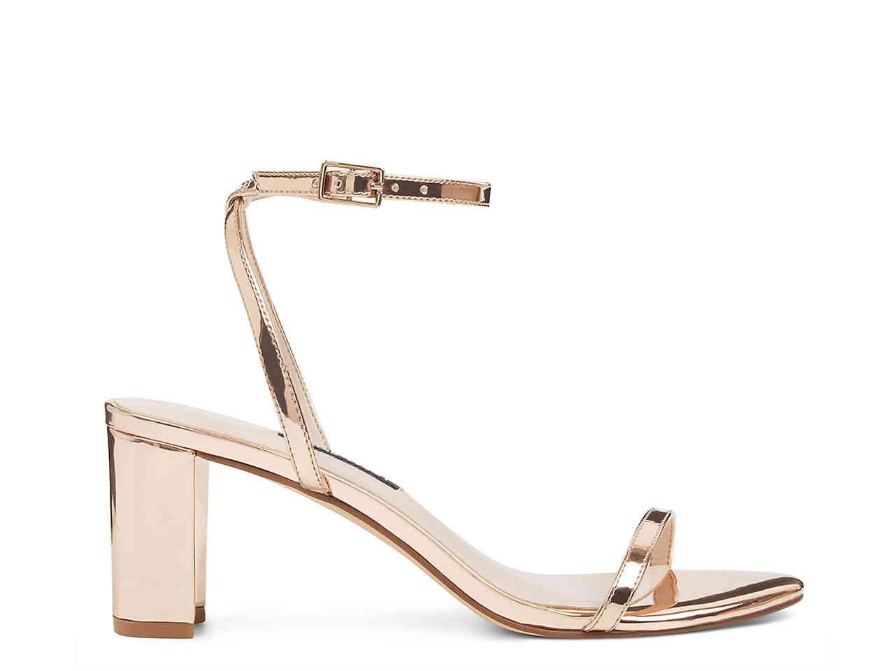 61a21ff9b5a Lyst - Nine West Provein Sandal in Metallic