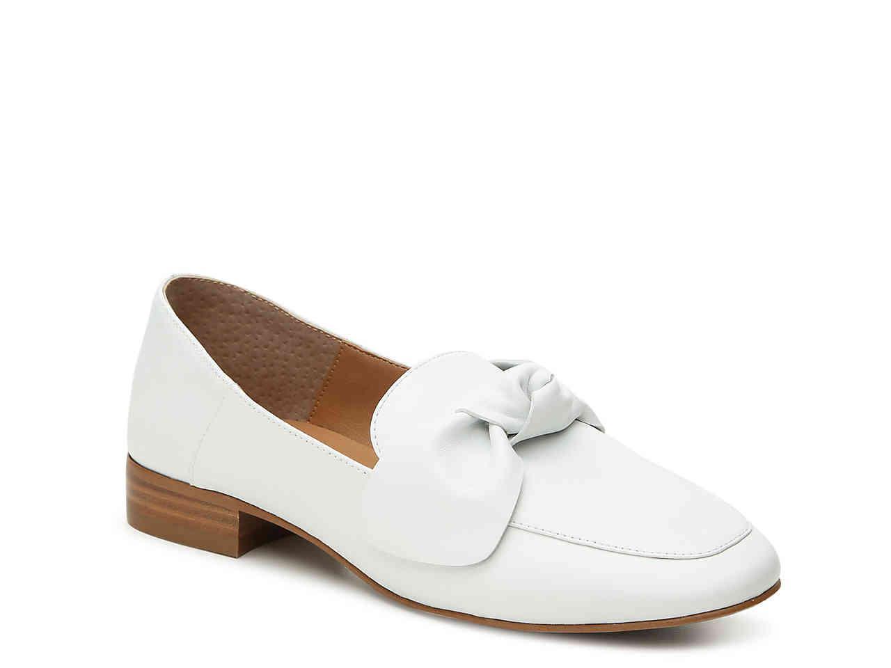2311994ecaf Lyst franco sarto abyss loafer in white jpg 1280x960 Dsw sarto susie franco  black loafers