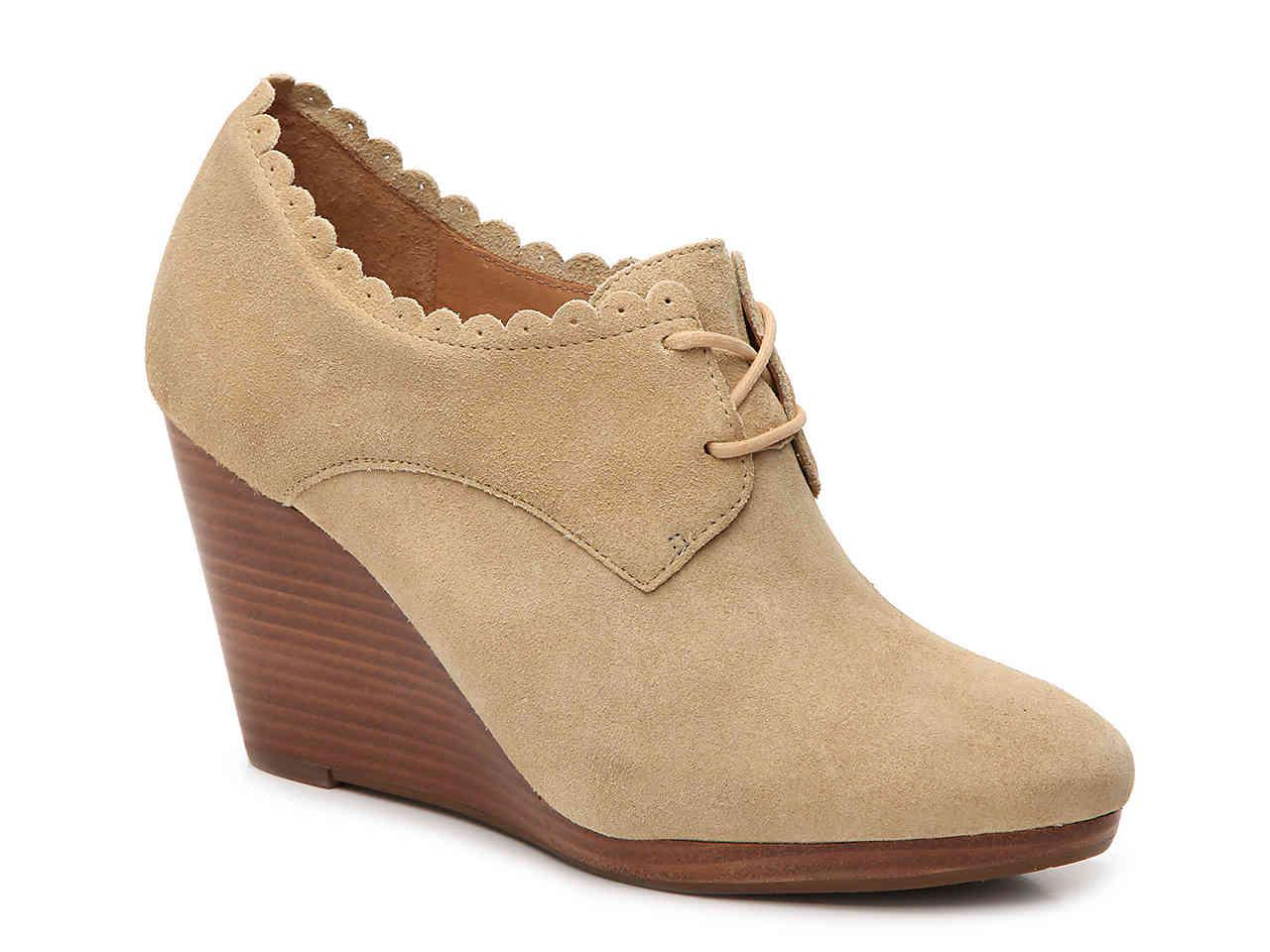 c08ebaba9f4 Lyst - Jack Rogers Olivia Wedge Bootie in Natural