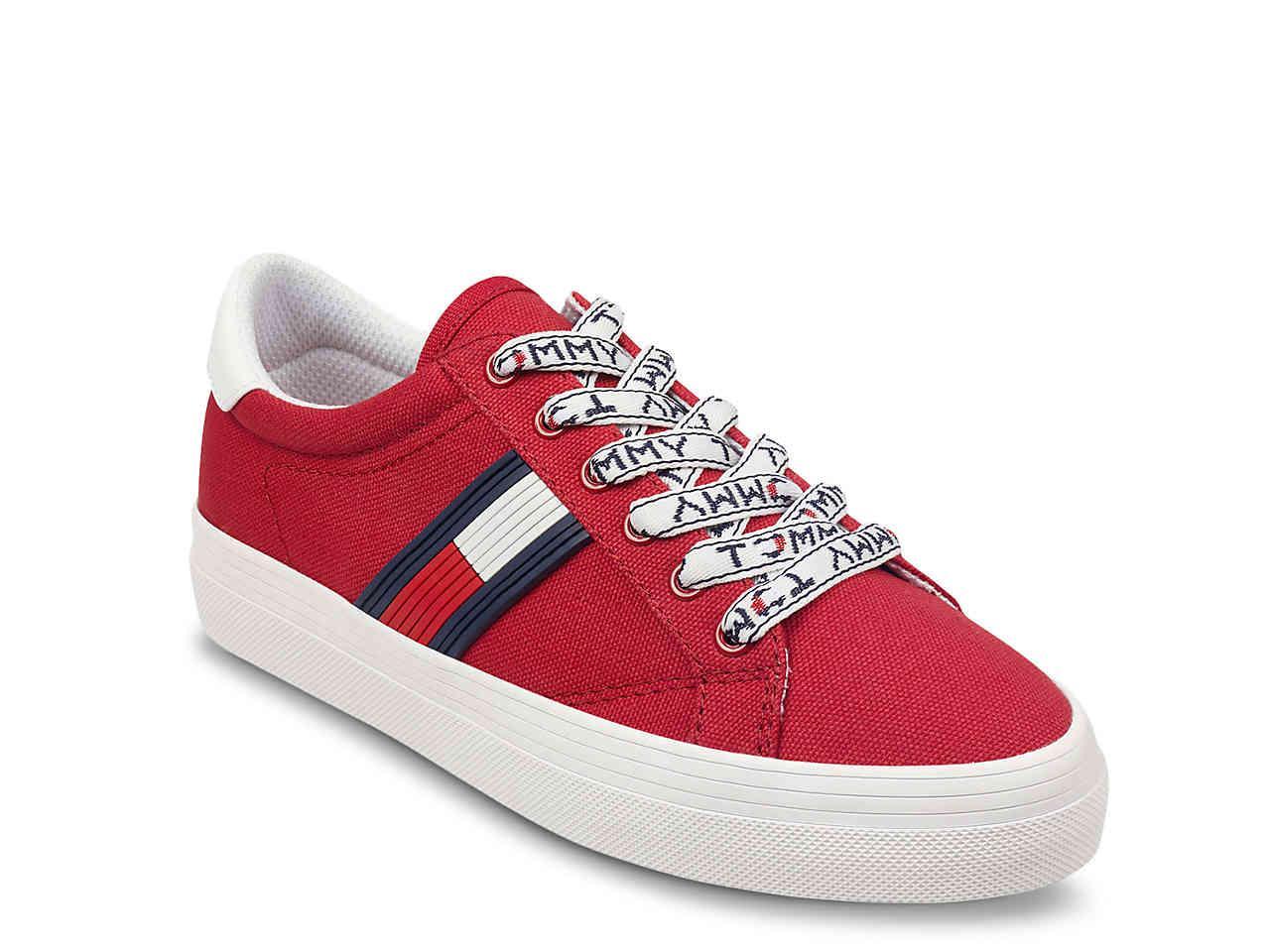 02fb41a5af47 Lyst - Tommy Hilfiger Fantim Sneaker in Red