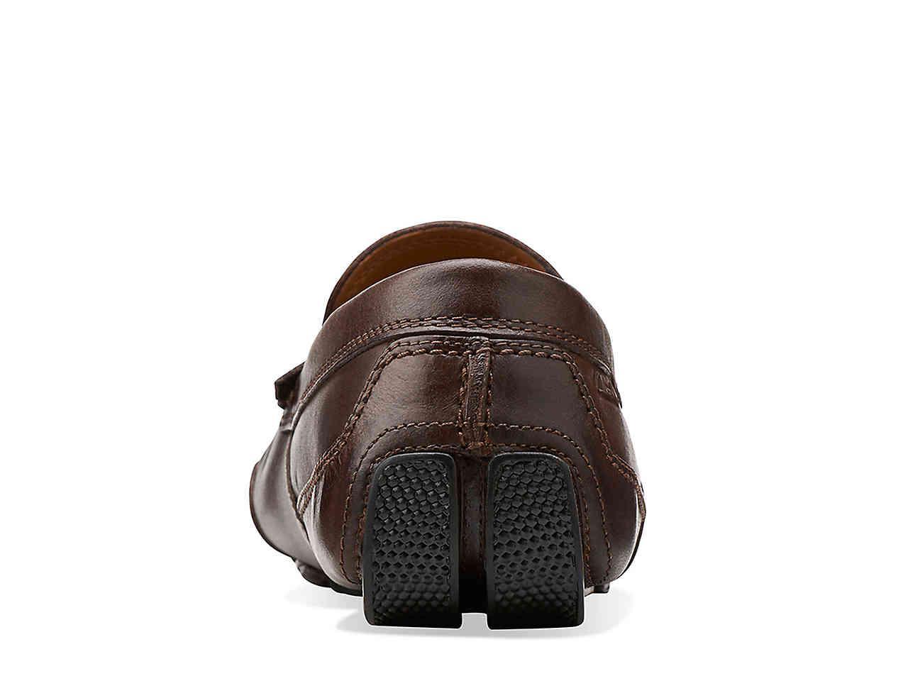 Clarks Denim Ashton Way Loafer in Brown