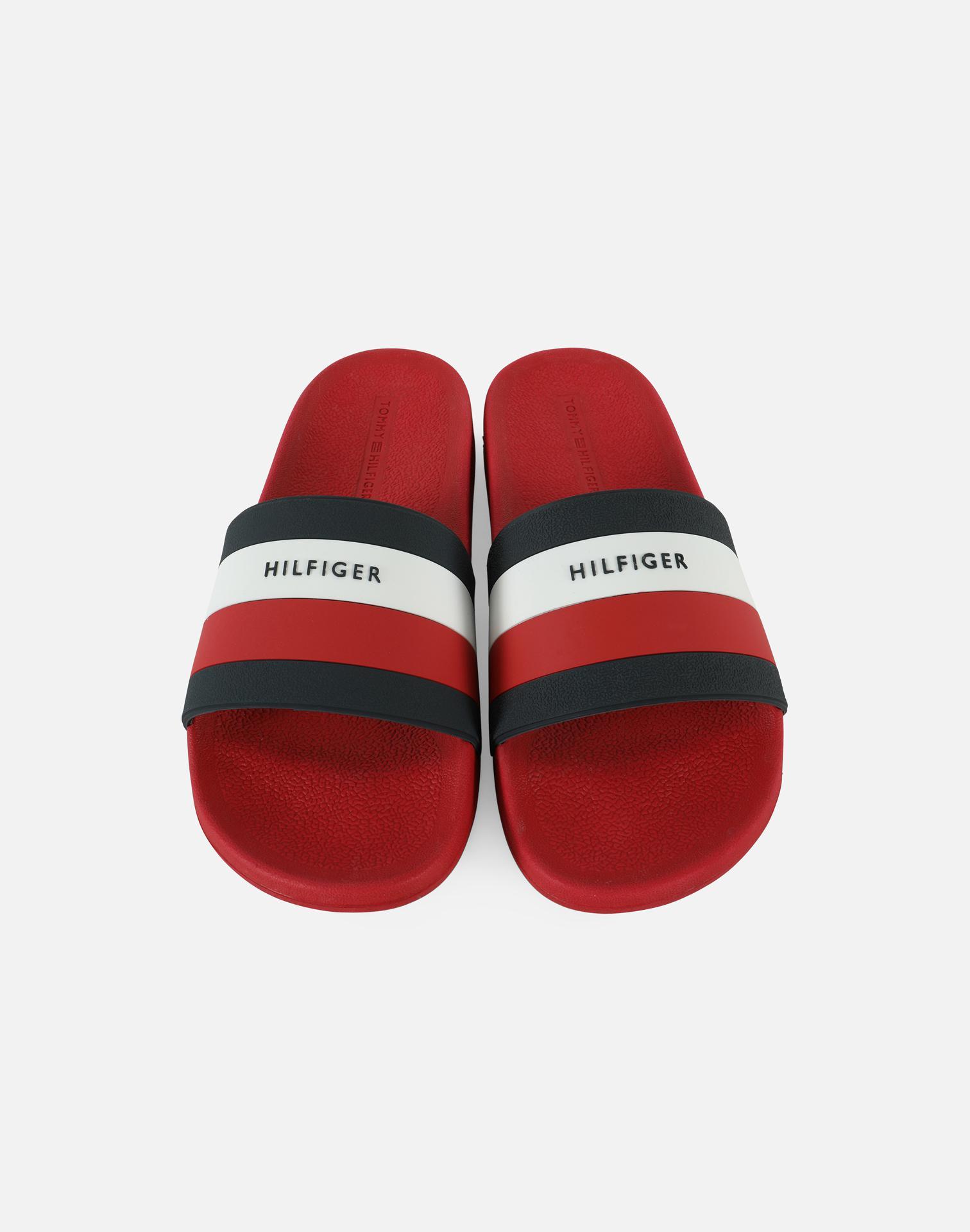 Tommy Hilfiger Mens Earthy Slide Sandal