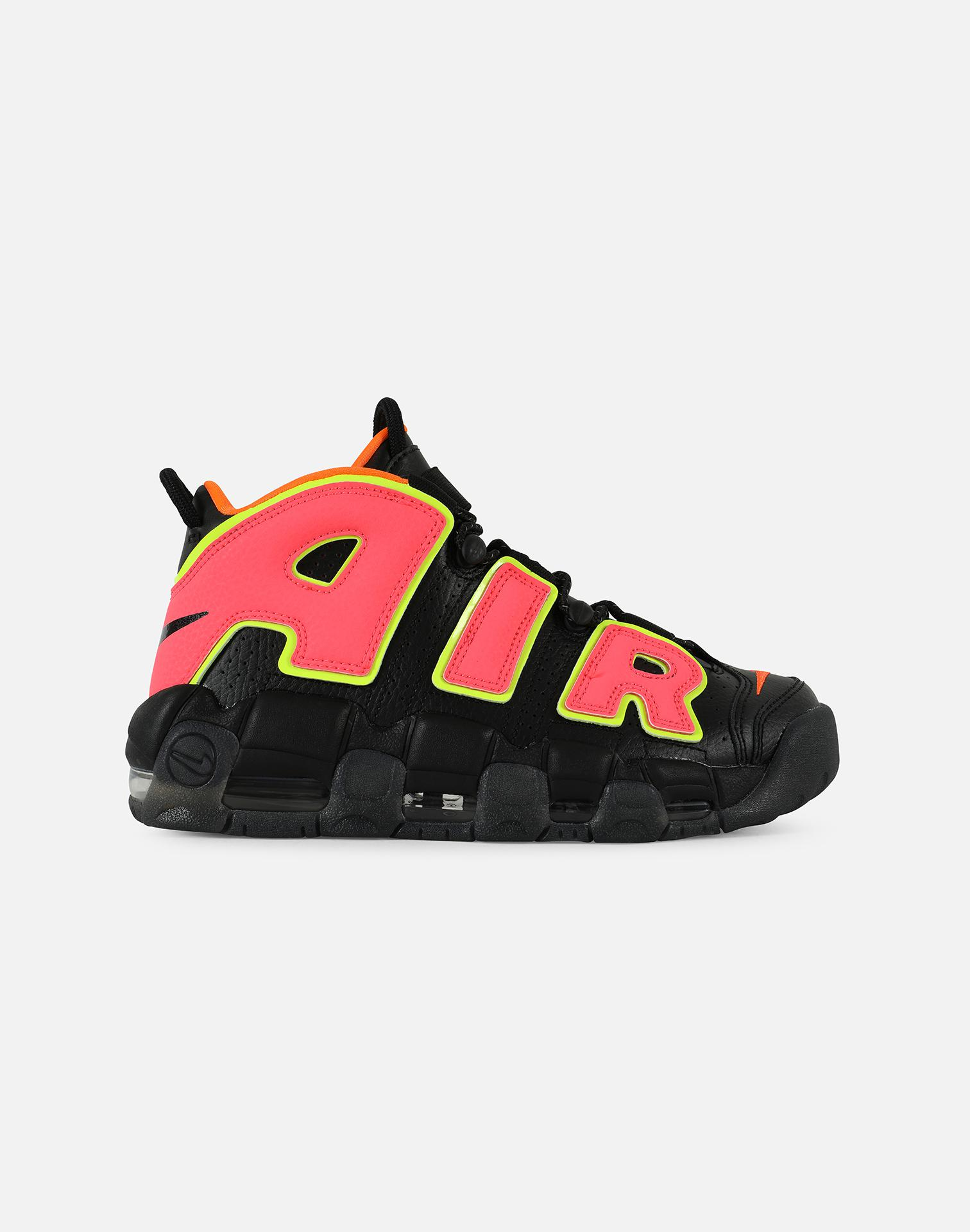 055eee9b389a Lyst - Nike Wmns Air More Uptempo in Black for Men