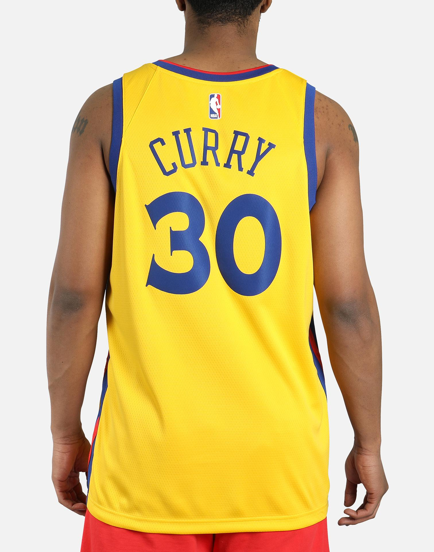 Nike Stephen Curry City Edition Swingman Jersey (golden State Warriors) Men's Nba Jersey in ...